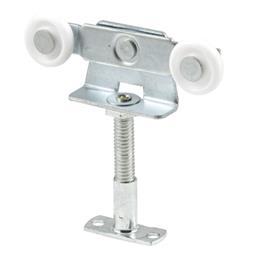 Picture of N 6533 - Top Center Mounted AdjustableTandem Roller, 7/8 inch Convex Nylon Roller, 1 per pkg.