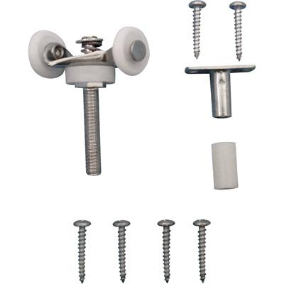 Picture of N 6534 - Top Center Mounted AdjustableTandem Roller, 7/8 inch Convex Nylon Roller, 1 per pkg.