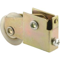 Picture of N 6569 - Mirror Door Roller, 1-1/4  inch BB Nylon Grooved Roller, 1 per package.