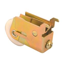 Picture of N 6570 - Mirror Door Roller, Unique Housing, 1-1/4  inch Nylon Grooved Roller, 1 per package.