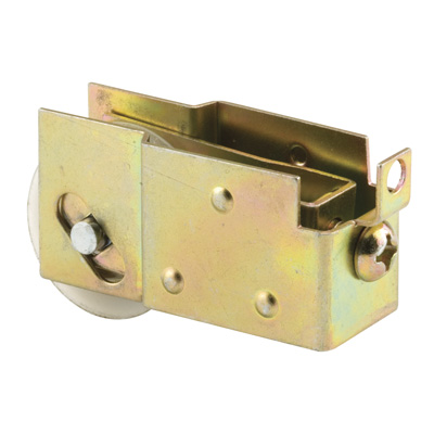 Picture of N 6571 - Mirror Door Roller, 1-1/4  inch BB Nylon Grooved Roller, 1 per package.