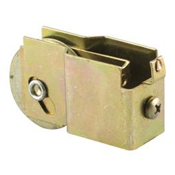 """Picture of N 6573 - Mirror Door Roller Assembly, 1-1/2"""", Steel, B.B., Concave"""