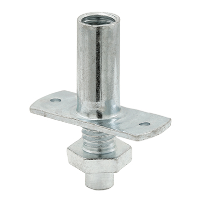 Picture of N 6613 - Bi-Fold Closet Bottom Pivot, Nail Down Style, 1/4 inch Steel Pivot, 2 per package