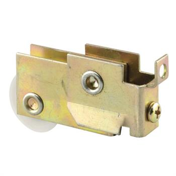 Picture of N 6625 - Mirror Door Roller, 1-1/4  inch BB Nylon Grooved Roller, 1 per package.