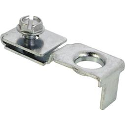 Picture of N 6640 - Bi-Fold Top or Bottom Pivot Bracket, Slimfold, 1 per package