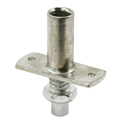 Picture of N 6644 - Bi-Fold Closet Bottom Pivot, Nail Down Style, 1/4 inch Steel Pivot, 2 per package