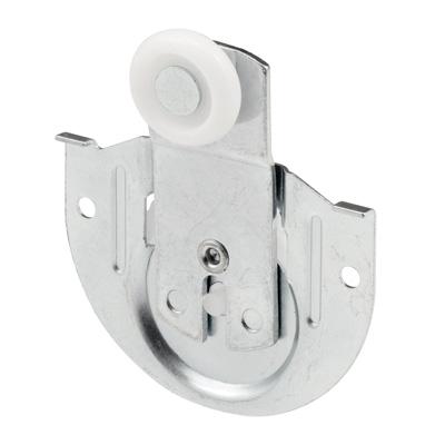 Picture of N 6648 - Closet Door Roller, 7/8 inch wheel, 1/8 inch offset, Front Panel, Pack of 2