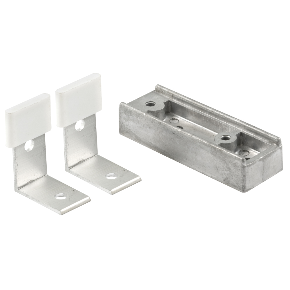 Picture of N 6664 - Closet Door Floor Guides, Like Door, Carpet Riser, 1-1/2 inches Tall, 2 per package
