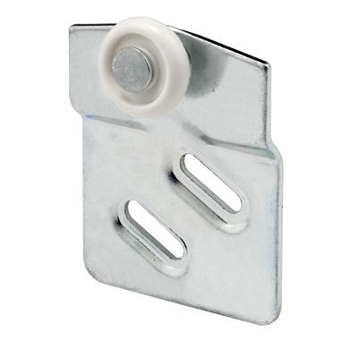 Picture of N 6667 - Wardrobe Door Roller, Front Panel, 7/8 inch convex nylon roller, Pack of 2