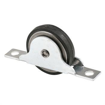 N 6688 Wood Closet Door Roller 1 3 8 Inch Flat Roller