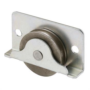 N 6689 Wood Closet Door Roller 1 3 8 Inch Concave