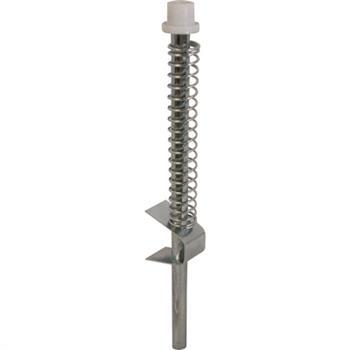 N 6729 Bi Fold Door Guide Rod Steel Slide Nylon Cap