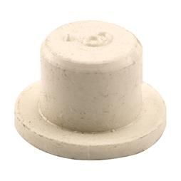 Picture of N 6788 - Bi-Fold Door Guide or  Pivot Cap, Nylon, Fits 1/4 inch Rod Tip, 25 per package