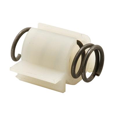 Picture of N 6799 - Bi-Fold Door Snugger, For 2 Door System, Steel Spring, Nylon Sleeve, 2 Pack