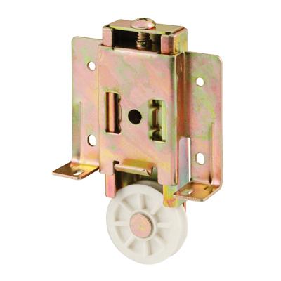 Picture of N 6817 - Cox Mirrored Door Roller, 1-1/2 inch Concave Roller, Adjustable,  1 Pack.