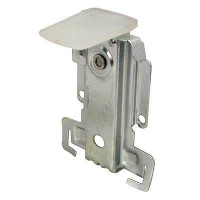 Picture of N 6821 - Mirrored Door Top Guide, Plastic Guide, Stamped steel Housing,  1 per package