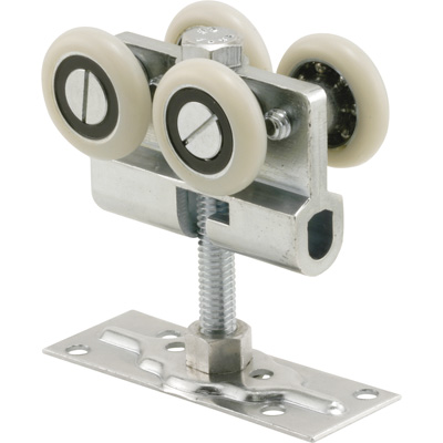 Picture of N 6822 - Pocket Door Top Roller  Assembly, Fixed, 1-1/8 inch Ball Bearing Roller, Pack of 1