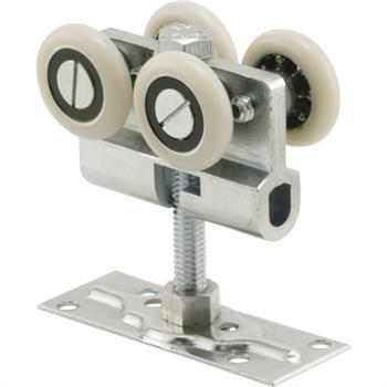N 6822 Pocket Door Top Roller Assembly Fixed 1 1 8