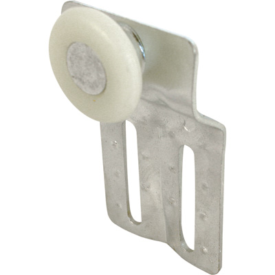 Picture of N 6830 - Closet Door Roller, 15/16 inch nylon roller, 7/16 inch offset, Padk of 2