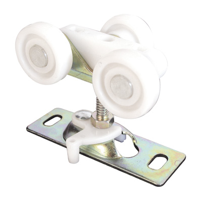Picture of N 6847 - Top Center Mounted Tricycle Style Roller, 3/4 inch Flat Roller, 2 per pkg.
