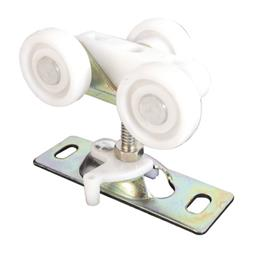 Picture of N 6847 - Top Center Mounted Tricycle Style Roller, 3/4 inch Flat Roller, 1 per pkg.
