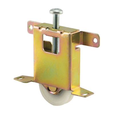 Picture of N 6861 - Mirror Door Roller, Conave Nylon Roller, Adjustable, 1 per package