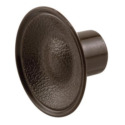 Picture of N 6871 - Bi-Fold Door Pull Knob, 1-13/16  inches diameter, Brown Color, Plastic, 2 per package