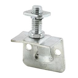 "Picture of N 6891 - Side Mount Roller Bracket, 3/4"", Steel"