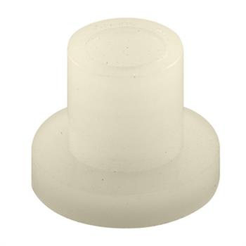 Picture of N 6903 - Bi-Fold Door Guide or  Pivot Cap, Nylon, Fits 1/4 inch Rod, 4 per package