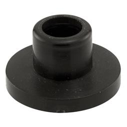 "Picture of N 6904 - Bi-fold Door Guide Cap, 1/4"", Plastic"