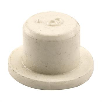Picture of N 6908 - Bi-Fold Door Guide or  Pivot Cap, Nylon, Fits 1/4 inch Rod Tip, 4 per package