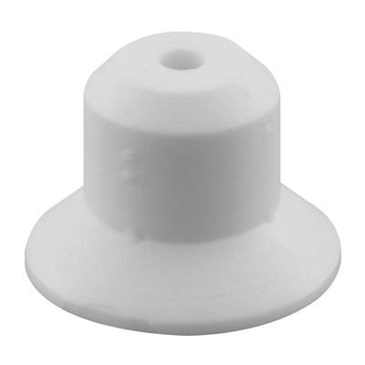Picture of N 6909 - Bi-Fold Door Guide or  Pivot Cap, Nylon, Fits 1/4 inch Rod Tip, 4 per package