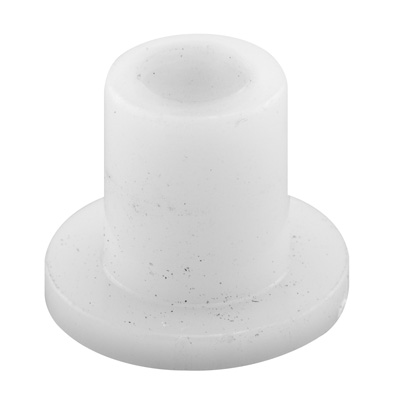 Picture of N 6917 - Bi-Fold Door Guide or  Pivot Cap, Nylon, Fits 1/4 inch Tip, 4 per package