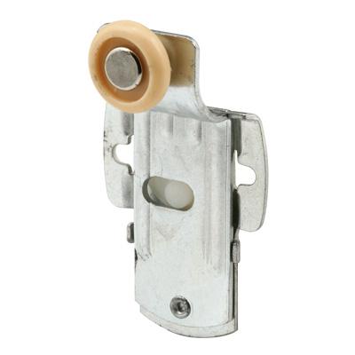 Picture of N 6926 - Closet Door Roller, 3/4  inch nylon roller, 1/2 inch Offset, Screw Adjust, Pack of 2