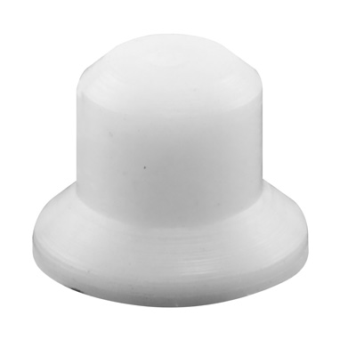 Picture of N 6927 - Bi-Fold Door Guide or  Pivot Cap, Nylon, Fits 9/32 inch Tip, 4 per package