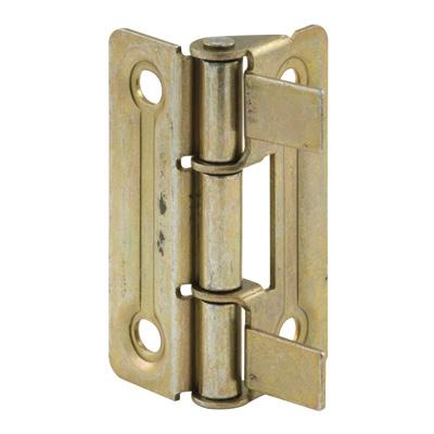 Picture of N 6936 - Bi-Fold Door Hinges, Brass Plated, Set of 2 per package