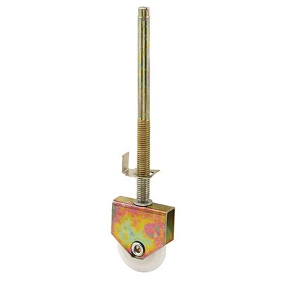 Picture of N 6988 - Wardrobe Door Bottom Roller, 1-7/16 inch Convex Nylon Roller, Adjustable, 1 per pkg.