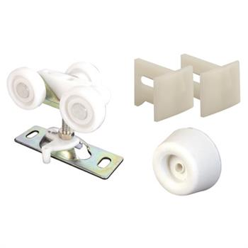Picture of N 6997 - Pocket Door Replacement  Parts Kit, Johnson, Guide, Bumpers and Rollers, 1 Pack