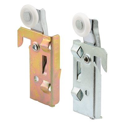 Picture of N 7046 - Panel Wardrobe Door  Roller, Acme Doors, 7/8 inch roller, Left & Right in Package