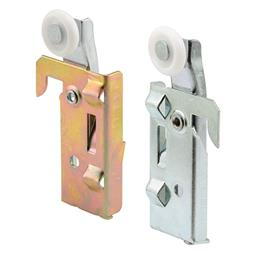 Picture of N 7046 - Panel Wardrobe Door  Roller, Acme Doors, 7/8 inch roller, Left & Right in Package