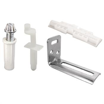 Picture of N 7071 - Bi-Fold Door Repair Kit,  Stanley, Pivots, Brackets and Slide Guide, 1 set per package