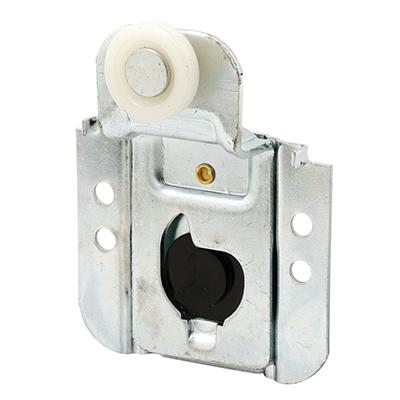 Picture of N 7092 - Closet Door Roller, 3/4  inch Flat Roller, 7/16 inch Offset, Screw Adjust, Pack of 2