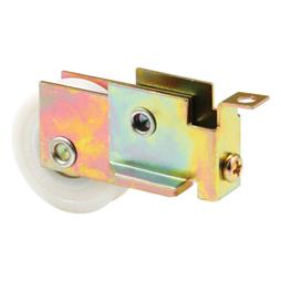 Picture of N 7128 - Mirrored Door Roller Assembly, 1-1/2 inch Nylon Ball Bearing Roller, 1 Pack