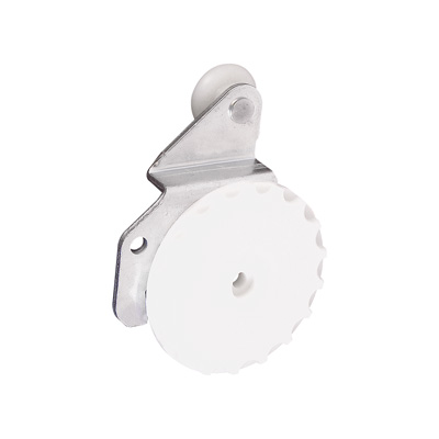 Picture of N 7176 - Closet Door Roller, 3/8 inch offset, Dial-a-matic design, 3/4 inch nylon roller,