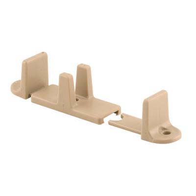 Picture of N 7316 - Sliding Closet Door Floor  Guide, Adjustable, Tan, Nylon, 2 per package