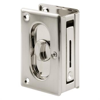 Picture of N 7367 - Deluxe Pocket Door Privacy Lock \u0026 Pull 3-3  sc 1 st  Prime-Line & N 7367 - Deluxe Pocket Door Privacy Lock \u0026 Pull 3-3/4\