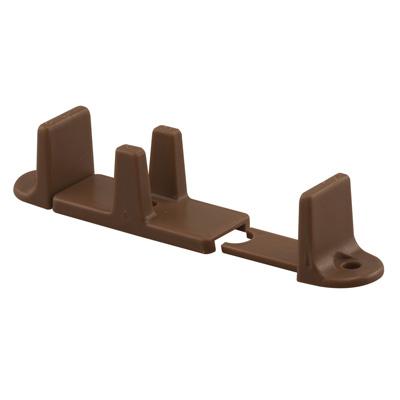 Picture of N 7384 - Sliding Closet Door Floor  Guide, Adjustable, Brown, Nylon, 2 per package