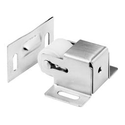 Picture of N 7386 - Cabinet/Closet Door Roller Catch, Satin Nickel