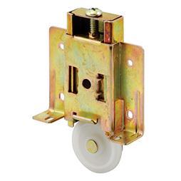Picture of N 7404 - Cox Series Mirrored Door Roller, 1-1/2 inch Convex Roller, Adjustable, 1 pack