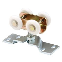Picture of N 7410 - Bi-Fold Door 4 Roller  Assembly, 1 inch Nylon Rollers, Pack of 2